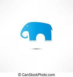 elefante, icona
