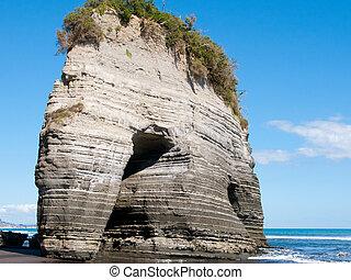 elefante, roca
