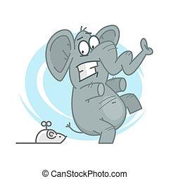 topo elefante topo illustrazione elefante vettori cerca clip art illustrazioni disegni e. Black Bedroom Furniture Sets. Home Design Ideas