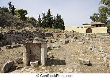 Elefsina, archaeological site
