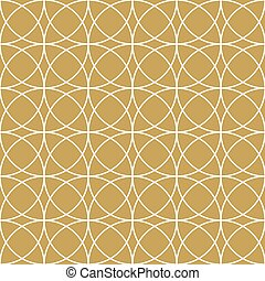 Elegan Gold Circle Pattern
