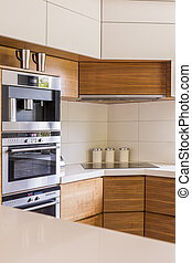 Elegance hand in hand with practical kitchen solutions -...