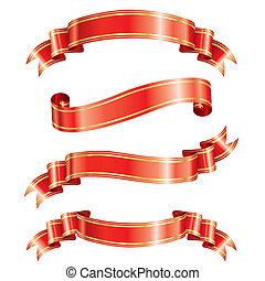 Elegance Ribbon Banner - Elegance ribbon banner set of...