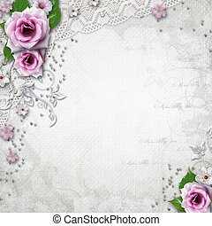 Elegance wedding background