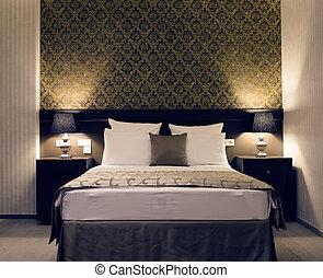 elegancja, sypialnia