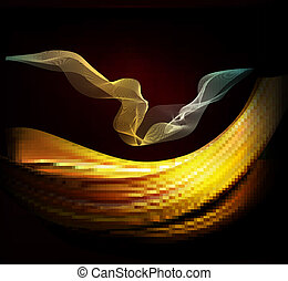 elegant, abstract, achtergrond