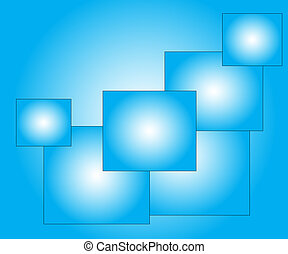 elegant  abstract blue background