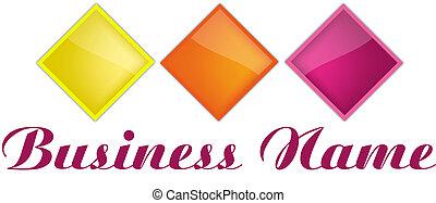 Elegant abstract logos