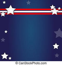 american flag design - elegant american flag design - vector...