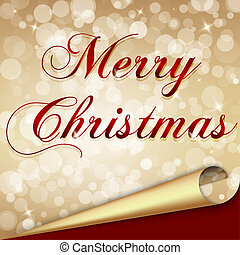 Marry Christmas background - Elegant and Light Marry...