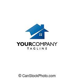 elegant and modern real estate logo 2