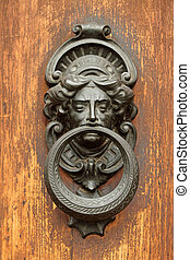 elegant antique door knocker - vintage door knocker in ...
