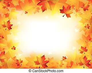 Elegant Autumn Frame