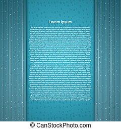 Elegant background for text.