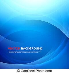 elegant, blauwe achtergrond, met, plek, voor, text.