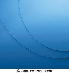 elegant, blauwe , zakelijk, achtergrond.