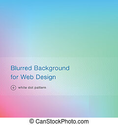 Elegant blue blurred background for web design