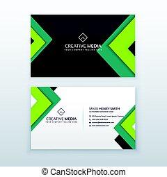 elegant business card design for your profession
