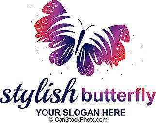elegant butterfly illustration