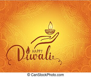 Elegant card design of traditional indian festival diwali clip elegant card design of traditional indian festival diwali beautiful greeting card for festival of diwali m4hsunfo