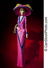 Elegant Catrina , Day of the dead - Day of the dead....