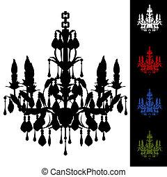 Elegant Chandelier - An image of a elegant chandelier.