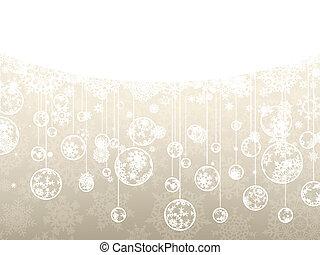 Elegant christmas background. EPS 8 - Elegant christmas...