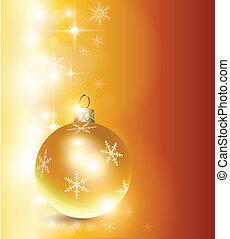 christmas background - Elegant christmas background gold,...