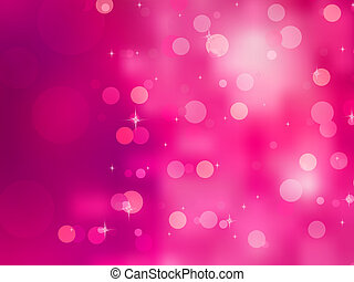 Elegant christmas background with bokehs. EPS 8 vector file...