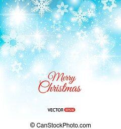 Elegant Christmas background with lights