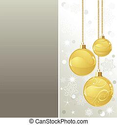 Elegant Christmas background with