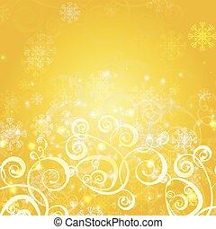 elegant christmas gold background