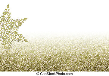 elegant christmas golden background with snowflake elegant christmas golden background with snowflake new years holiday border