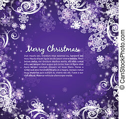 elegant christmas purple background