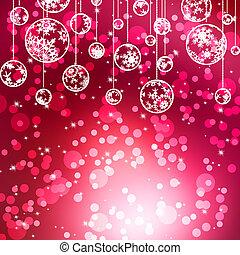 Elegant christmas with beautiful snowflakes. EPS 8
