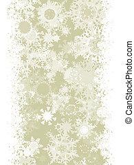 Elegant Christmas with snowflakes. EPS 8