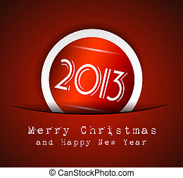 Elegant Classic Christmas Background. IdeaL for celebratiion...