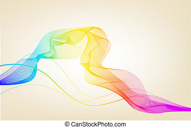 Elegant color abstract background