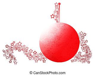 Elegant Cristmas Ball Ornament