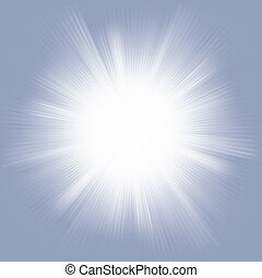Elegant design with a burst. EPS 8 vector file included