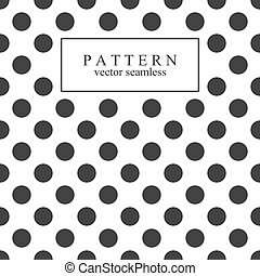 Elegant dotted seamless pattern. Vector illustration.