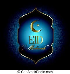 Elegant Eid Mubarak background