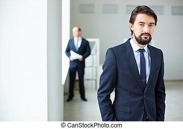 Elegant employee
