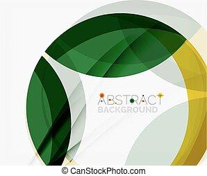elegant, färg, gul, din, eco, grön, meddelande, abstraction.