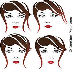 Elegant face set 5
