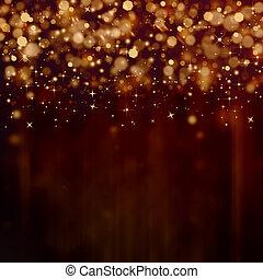 elegant festive background with stars