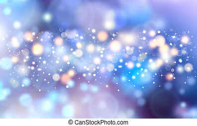 elegant festive blue background
