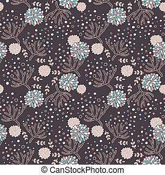 elegant floral seamless pattern