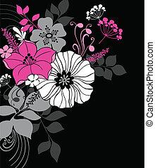 Elegant Flowers Design Elements