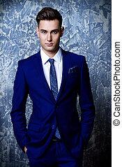 elegant formal suit